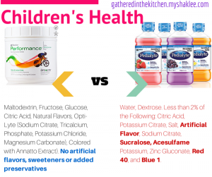 Performance vs Pedialyte